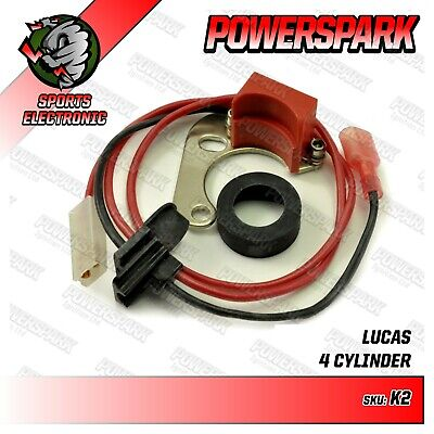 DM2 Electronic Ignition Kit Powerspark for Lucas DM2 distributor