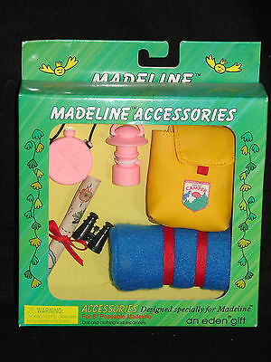 """Madeline 8"""" Doll SCOUTING ACCESSORIES NRFB!"""