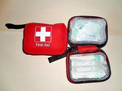 1-5 Person First Aid Kit With Compartments - 24 Items - Travel, Lone Worker