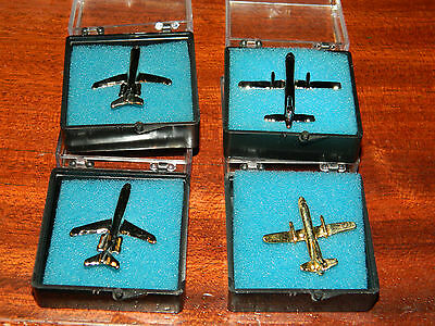 4 PINS uniforme CROSSAIR BOEING MD-83 concordino SAAB 340 cityliner PILOTE avion