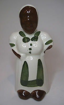 Black African Americana Vintage M*mmy Still Bank Pottery Made in USA  K