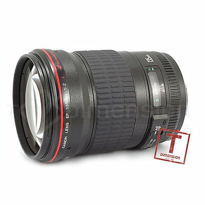 Canon EF 135mm f/2 L USM Lens+3Gifts+5Wty f2L S0979