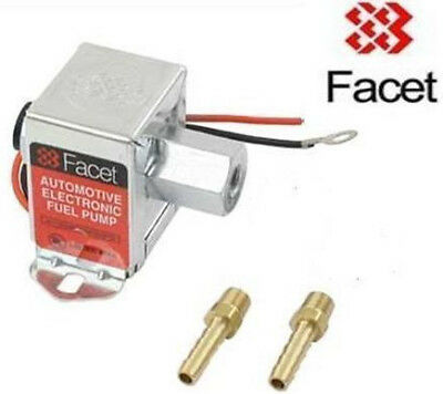 FACET 1.5 - 4psi Fuel Pump with 8mm unions 40104 solid state electric pump