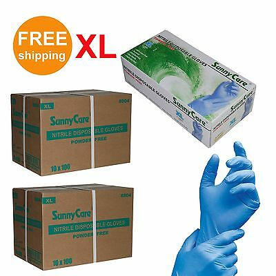 2000 Nitrile Disposable Gloves Powder Free (Latex Free) Size: X-Large