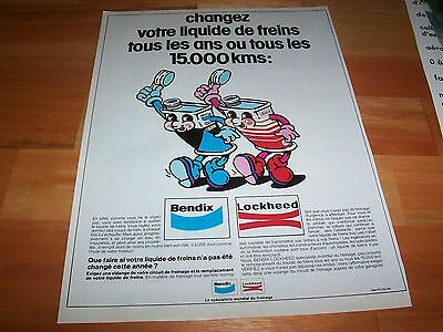 Publicité magazine / Original Advertising LOOKHEED BENDIX 1977 //