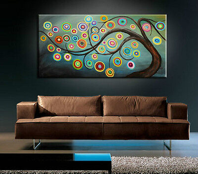 BEAUTIFUL MODERN ABSTRACT HUGE LARGE CANVAS ART OIL PAINTING Style