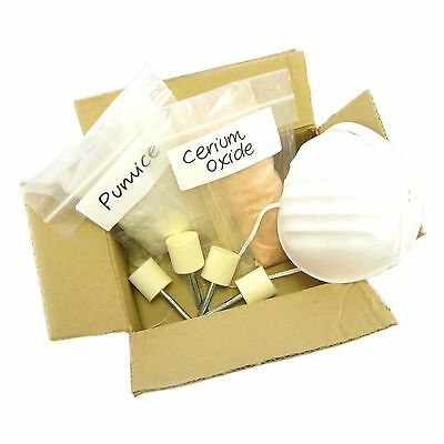 Glass Polishing Kit 28 - Takes Out Scratches And Polish