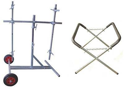 Body Shop Rotating Panelstand & Trestle Panel Stand