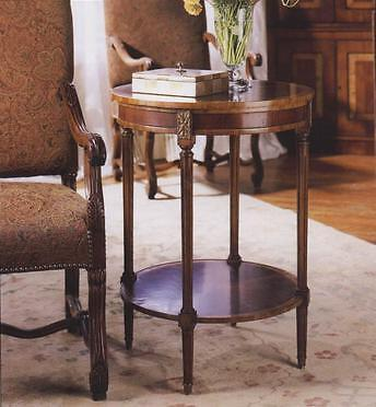 Walnut Wine Or Lamp Side Table Quality Reproduction Antique H79xW58xD58cm