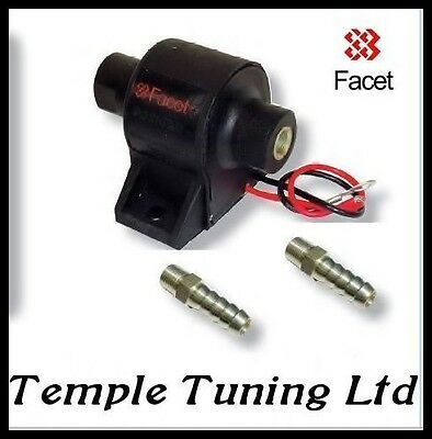 Facet Posi-Flow Fuel Pump 7-10 psi with 2x 8mm unions Carburettor Carb Weber
