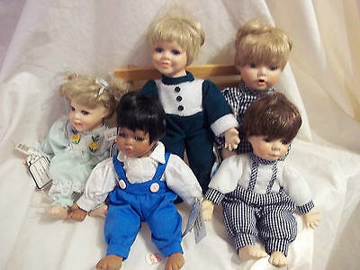 Small doll Fritz's Basket Babies