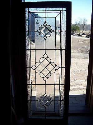 Nice transom Bevel and texture glass bevel center cluster (SG 1187)