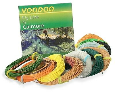 Voodoo Fly Lines by Caimore - Shooting Heads - Choice of Sizes
