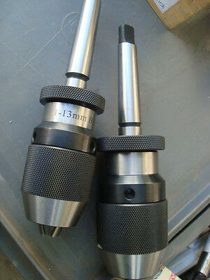 Keyless Chuck High precision 1 to 13mm 2MT ARBOR included 1 chuck only for sale