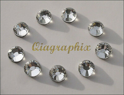 2x 1440 Pcs (20 gross) DMC Iron On Hotfix Crystal Rhinestones Clear SS20, SS20A