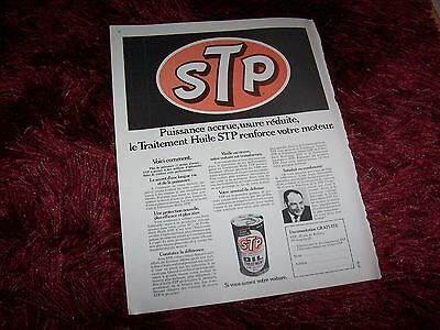 STP 1971  Publicité magazine / Original French Advertising //