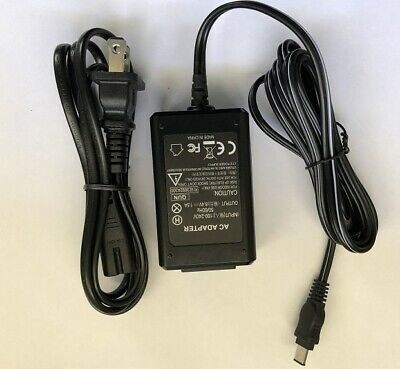 Sony Digital Camera Camcorder AC-L10A power supply cord cable ac adapter charger