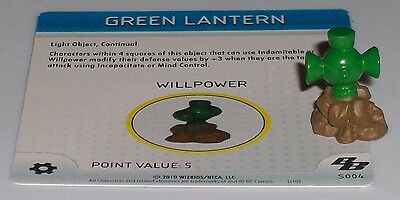 GREEN LANTERN s004 Brave and the Bold HeroClix special object LE