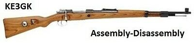 K98 Mauser Rifle Disassembly and Reassembly * C&R * CDROM * PDF