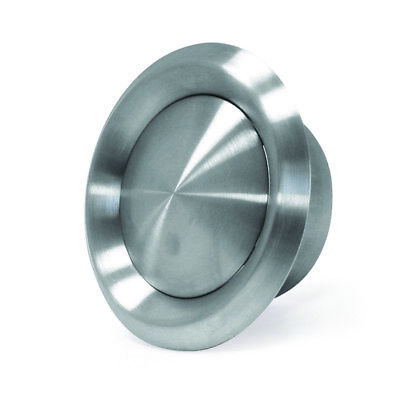 Stainless Steel Air Valve - Domestic Ventilation, Ducting, Extractor Fan