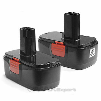2 19.2V Replacement Battery for Craftsman 2000mAh 2.0AH 19.2 Volt Cordless Drill