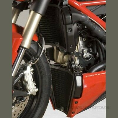 R&G Kühlergitter Set Wasser & Öl Ducati Streetfighter 848 water & oil guard kit