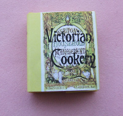 Dollshouse Miniature Book - Victorian Cook Book