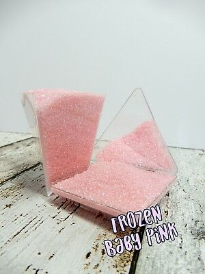 45G Baby Pink Sanding Sugar Sprinkles Cakes Cupcakes Decorations Cup Cake Pops