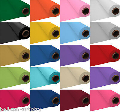 100ft Plastic Banquet Roll Party Birthday Wedding Buffet Top Table Cover Cloth
