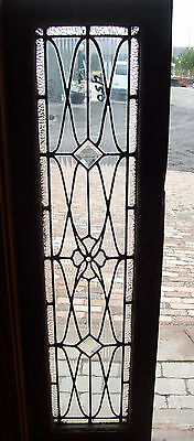 Beveled Diamonds and center jewel textured glass tansom window (SG 1203)