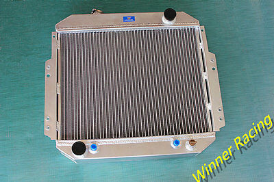 Fit NISSAN FORKLIFT A10-A25, H20 A/T 88-92 ALUMINUM RADIATOR 2146090H10