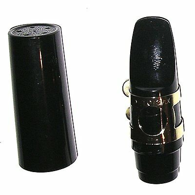 Alto Sax (Saxophone) Mouthpiece w/ USA Ligature & Cap. Plays well for any level!