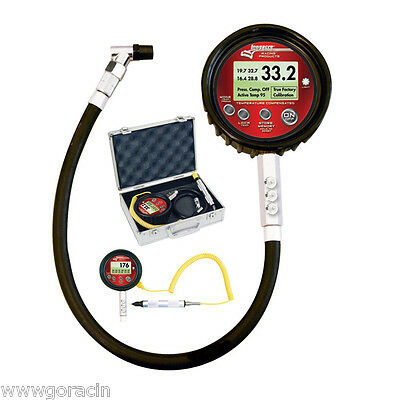 Longacre Temperature Compensated Ultimate 0-100 PSI Digital Tire Pressure Gauge~