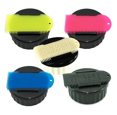 Mr Zogs Sex Wax Pot & Wax Comb.  5 Colours Available.