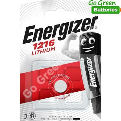 10 x Energizer 1216 CR1216 3V Lithium Coin Cell Battery DL1216 KCR1216, BR1216
