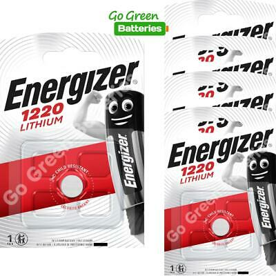 5 x Energizer 1220 CR1220 3V Lithium Coin Cell Battery DL1220 KCR1220, BR1220