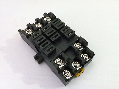 Relay Socket Base PT38-11A For JQX-38F Power Relay