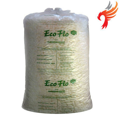 Ecoflo Biodegradable Loose Void Fill Packing Peanuts 15/30/45 Cubic Foot Bags