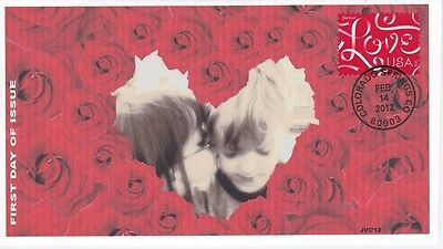 Jvc Cachets - 2012 Love Ribbons Stamp First Day Cover Fdc L.e. Of Only 20 - #2