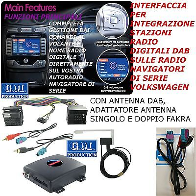 Interfaccia Digitale Dab Rcd 300 310 500 510 210 Volkswagen Tiguan Touareg Polo