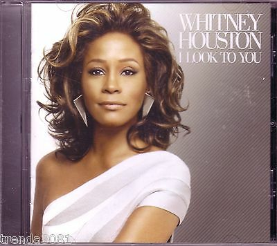 Whitney Houston I Look To You CD Classic 80s 90s Pop Best of Like I Never Left