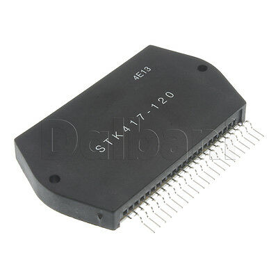 STK417-120 NEW REPLACEMENT Audio IC Power Amplifier Integrated Circuit