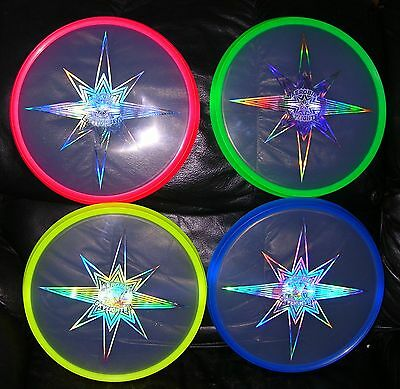 Authentic Aerobie Skylighter Flying Disc Ufo Free Us Shipping & Batt