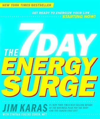 The 7 Day Energy Surge by Jim Karas (2010, Paperback)