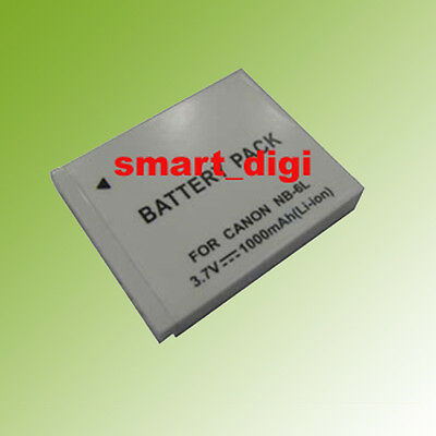 NB-6L Battery Pack for Canon PowerShot D10, D20,SD1200IS,SD1300IS Digital Camera