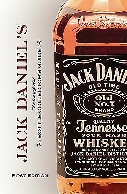 Jack Daniel's Bottle Collector's Guide Book - Brand New & Signed by the Author