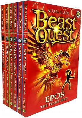 Beast Quest Series 1 6 Books Set (1 to 6) Brand New