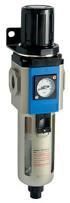 Filter Pressure regulator Fully Automatic Drain  1/2 for compressors/air spray