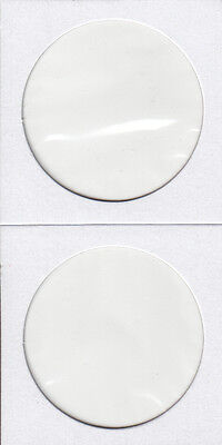 Pack Of 100 Cardboard Flips 2X2 Coins    *** Silver Dollar Size ***