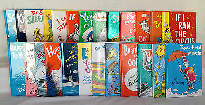 Dr. Seuss Classic Collection 25 Book Gift Set of Brand New Hardcover Books